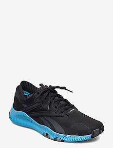 Reebok HIIT TR - training shoes - cblack/radaqu/trgry8