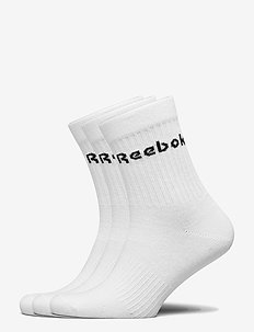 ACT CORE MID CREW SOCK 3P - normale sokken - white