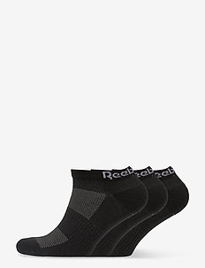 TE LOW CUT SOCK 3P - str - black