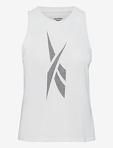Workout Ready Supremium Big Logo Tank Top W - topjes - white