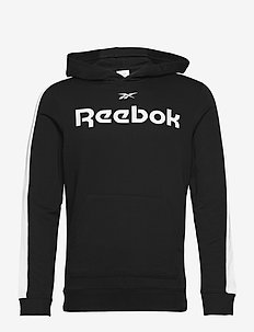 Training Essentials Linear Logo Hoodie - hupparit - black