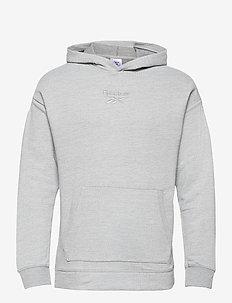 Training Essentials Mélange Hoodie - hoodies - mgreyh