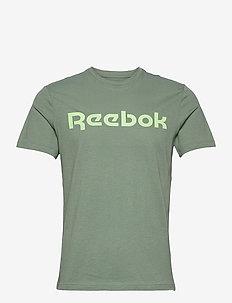 Graphic Series Linear Logo T-Shirt - t-shirts - hargrn