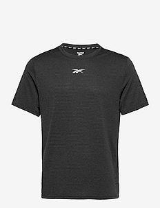 Workout Ready Mélange T-Shirt - t-shirts - black
