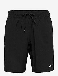 WOR WOVEN SHORT - träningsshorts - black
