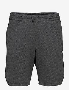 WOR MEL KNIT SHORT - training korte broek - black