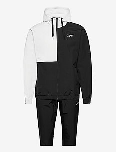 Woven Track Suit - trainingspakken - black