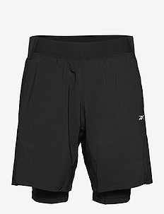 Epic Two-In-One Shorts - treenishortsit - black