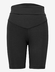 SR Lux Maternity Short - running & training tights - black