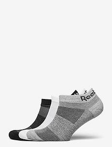 TE LOW CUT SOCK 3P - strümpfe - black/white