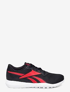 FLEXAGON ENERGY TR 3.0 - training schoenen - cblack/vecred/ftwwht