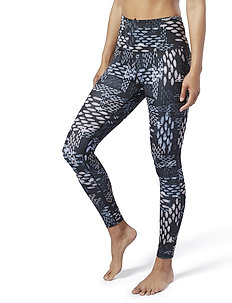 S Lux Bold HighRise-SGrid - running & training tights - black