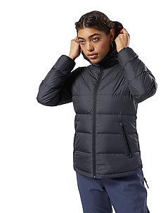 CN W LT DOWN JKT1 - down jackets - black/rebred