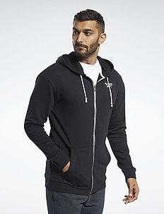 Training Essentials Hoodie - basic sweatshirts - black