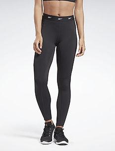 SH HighRise Mesh Tight - running & training tights - black