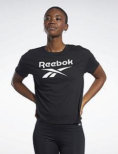 WOR SUP BL Tee - logo t-shirts - black