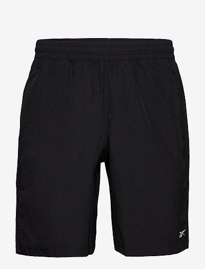 TE UTILITY SHORT - training korte broek - black