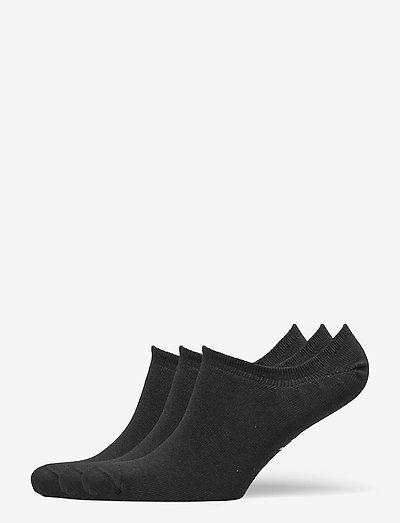 TE INVISIBLE SOCK 3P - kousen - black