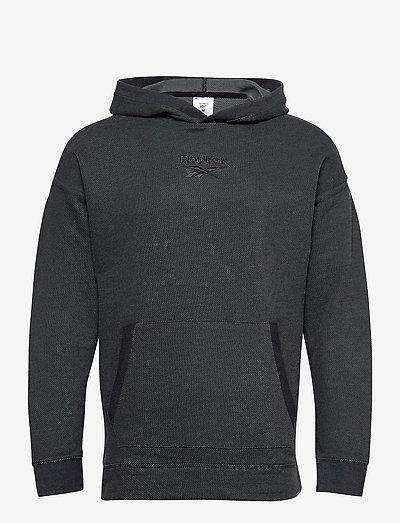 Training Essentials Mélange Hoodie - hoodies - black