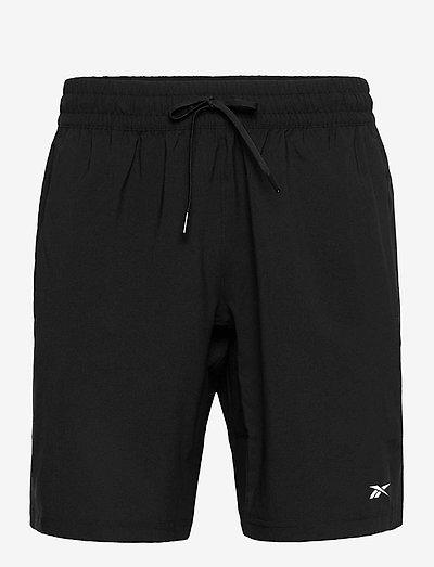 WOR WOVEN SHORT - training korte broek - black