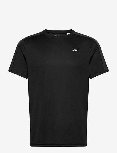 WOR SS TECH TEE - t-shirts - black