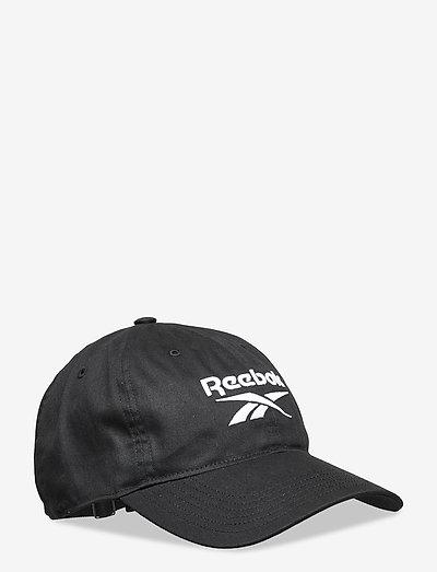 TE LOGO CAP - lippalakit - black/black