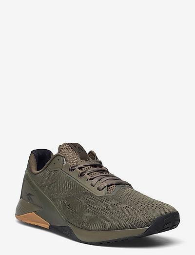 Reebok Nano X1 - laag sneakers - armygr/armygr/cblack