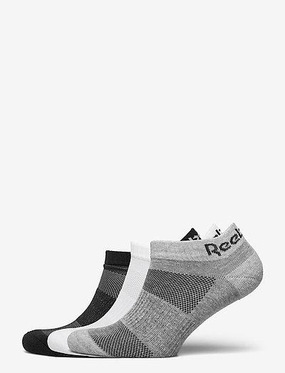TE LOW CUT SOCK 3P - ankelstrømper - black/white