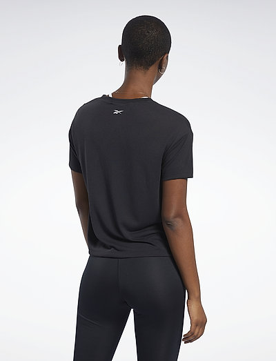 Reebok Performance Wor Sup Bl Tee- T-paidat & Topit Black