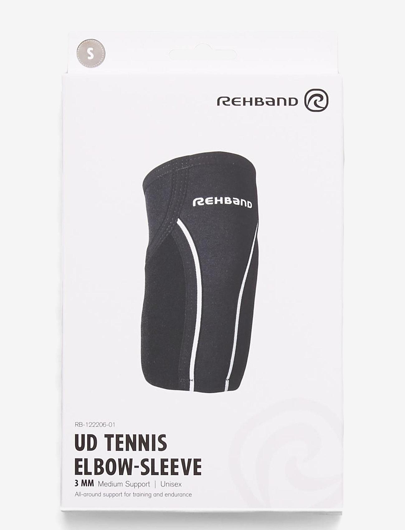 Rehband - UD Tennis Elbow-Sleeve 3mm - kyynärpäätuet - black - 0