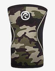 Rehband - RX Knee-Sleeve 5mm - knæ støtte - black/camo - 1