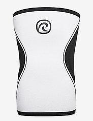 Rehband - RX Knee-Sleeve 5mm - polvituet - black/white - 1