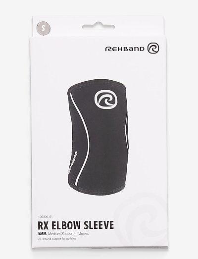 RXElbow-Sleeve 5mm - albue støtte - black