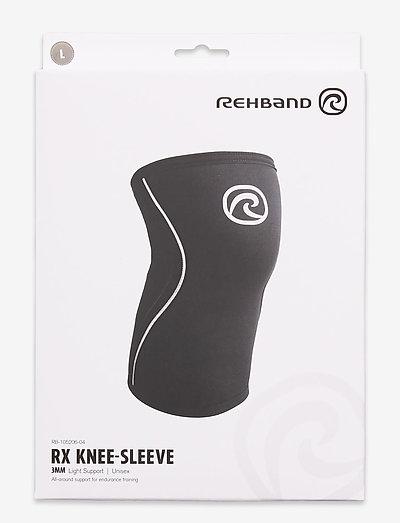 RX Knee-Sleeve 3mm - knæ støtte - black