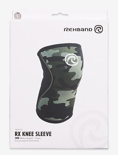 RX Knee-Sleeve 5mm - knæ støtte - black/camo