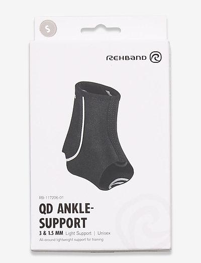 QD Ankle-Support 3mm - ankel støtte - black