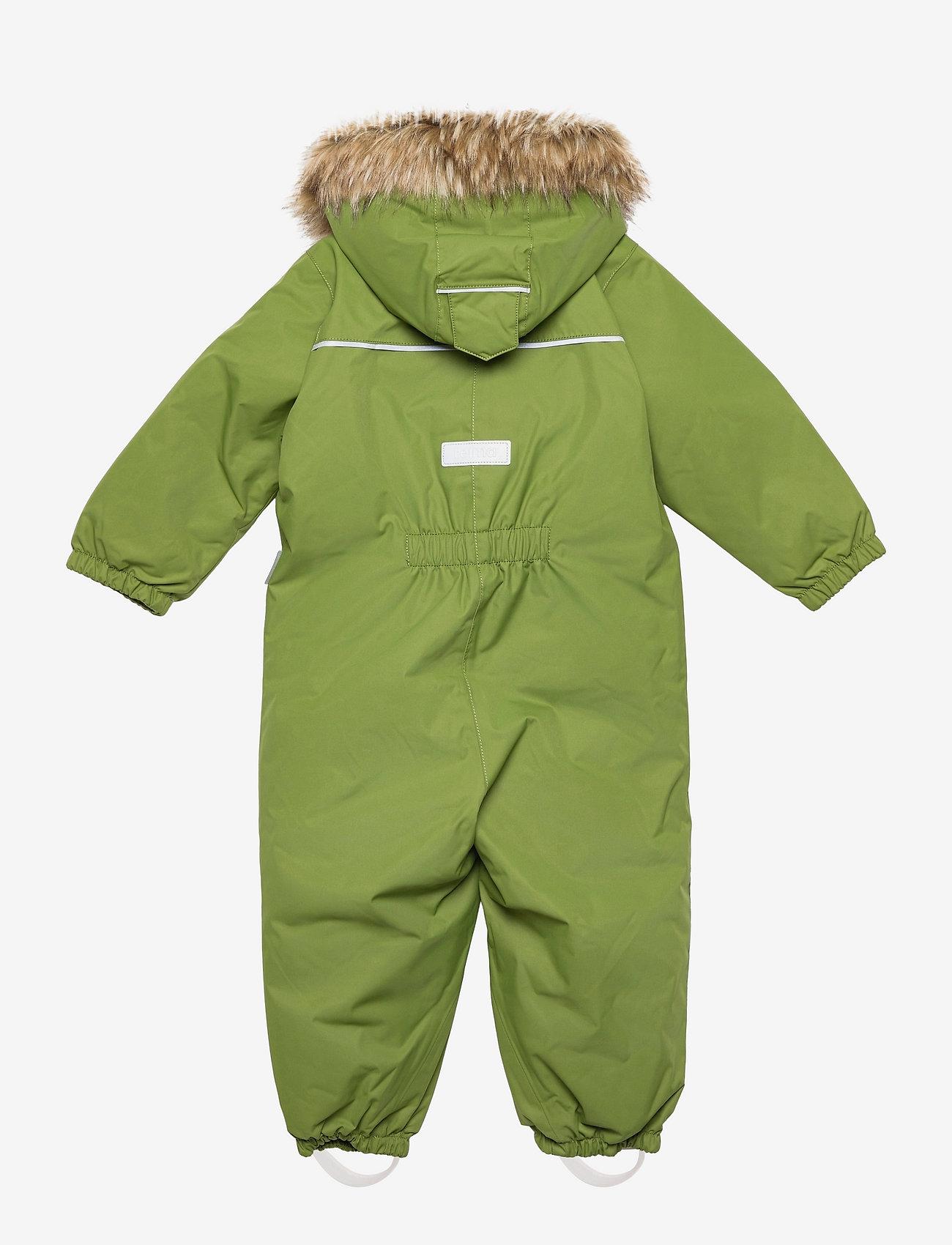 Reima - Reimatec winter overall, Gotland Dark berry,80 cm - snowsuit - cactus green - 1