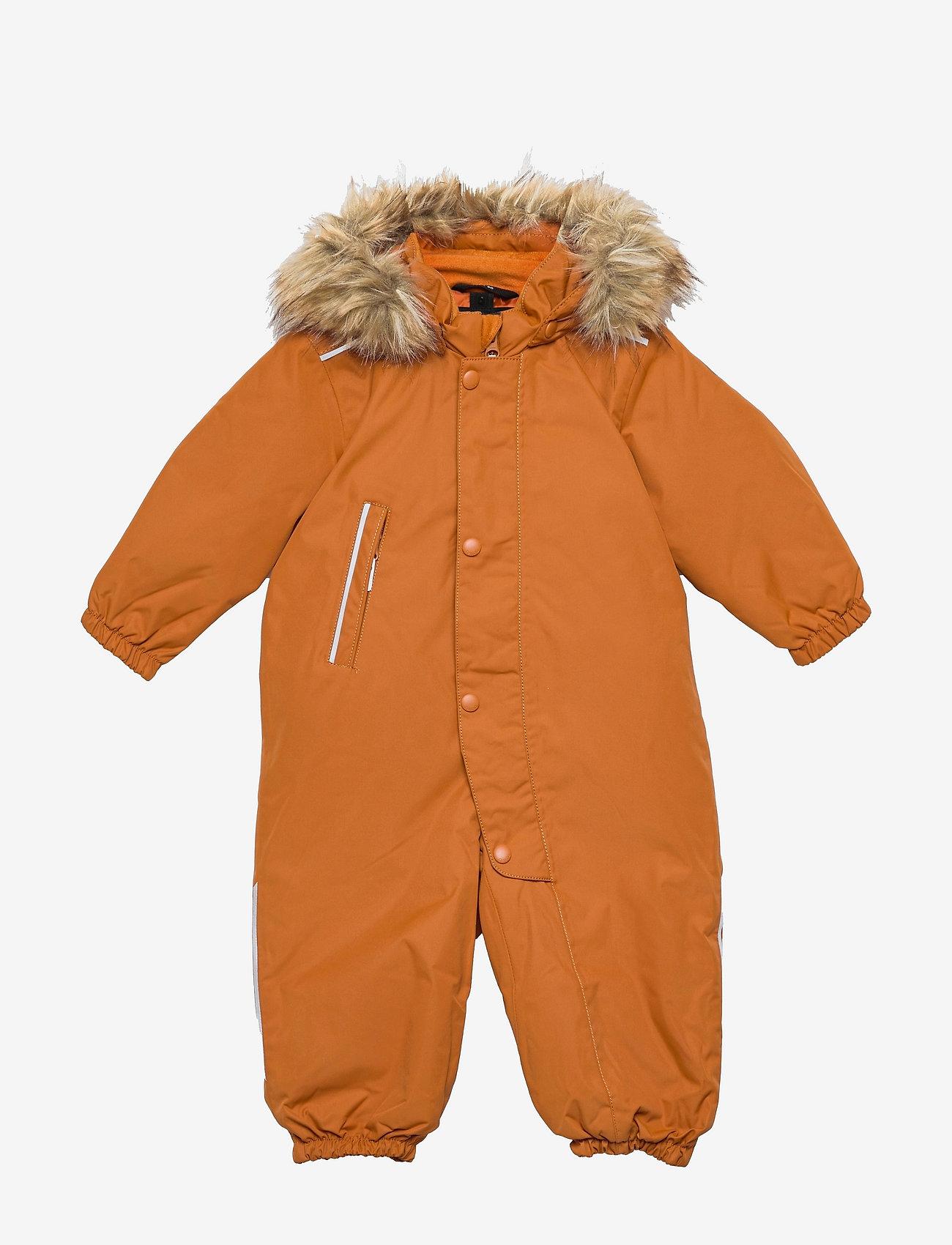 Reima - Gotland - snowsuit - cinnamon brown - 0