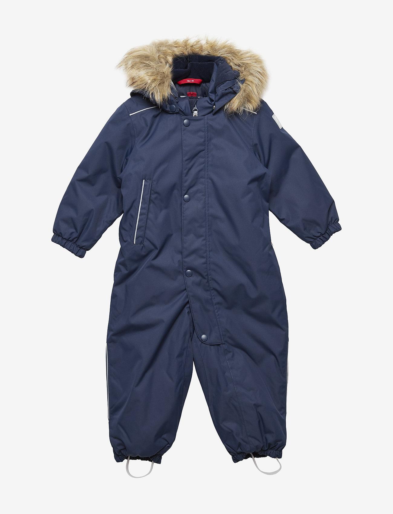 Reima - Reimatec winter overall, Gotland Dark berry,80 cm - snowsuit - navy - 0