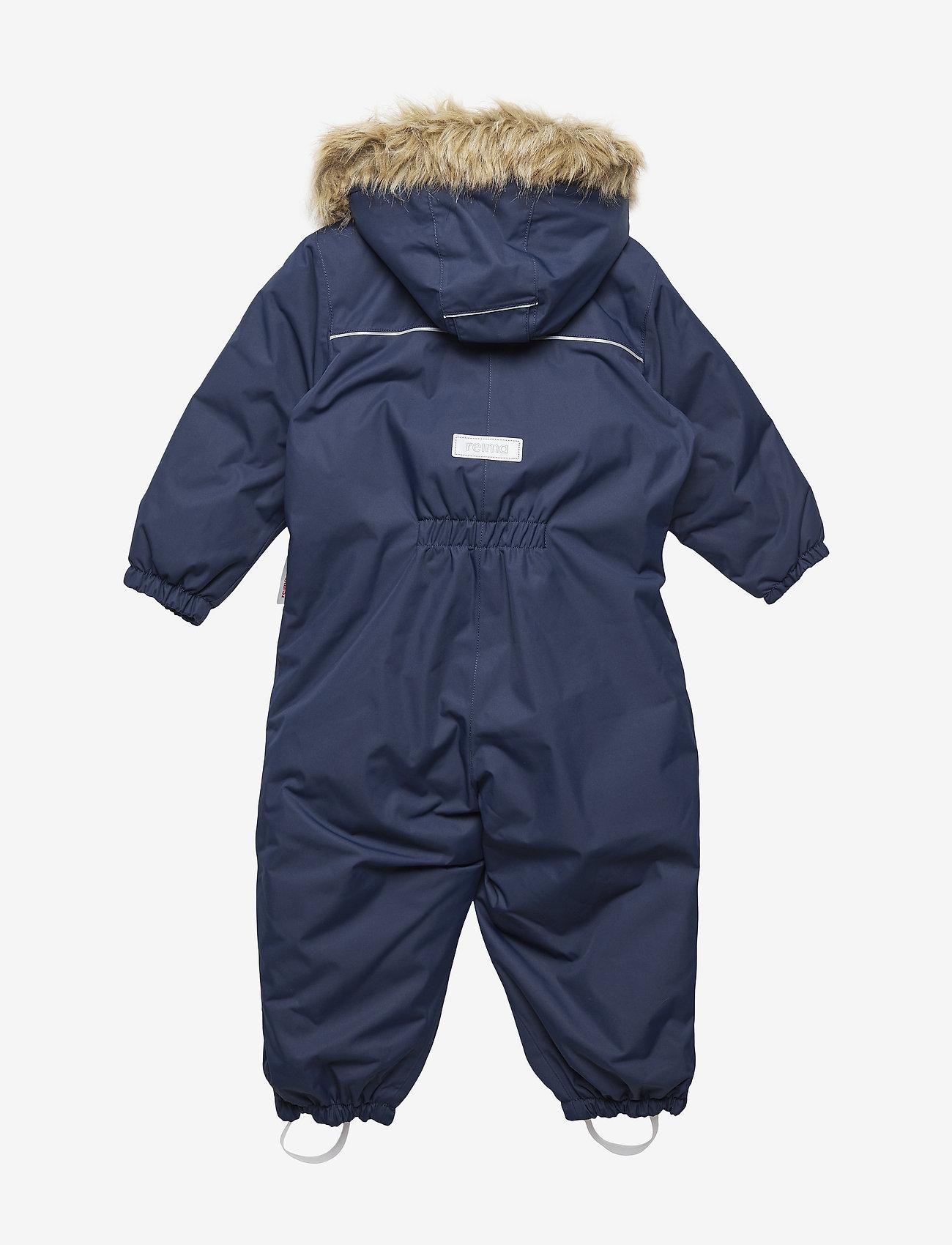 Reima - Reimatec winter overall, Gotland Dark berry,80 cm - snowsuit - navy - 1