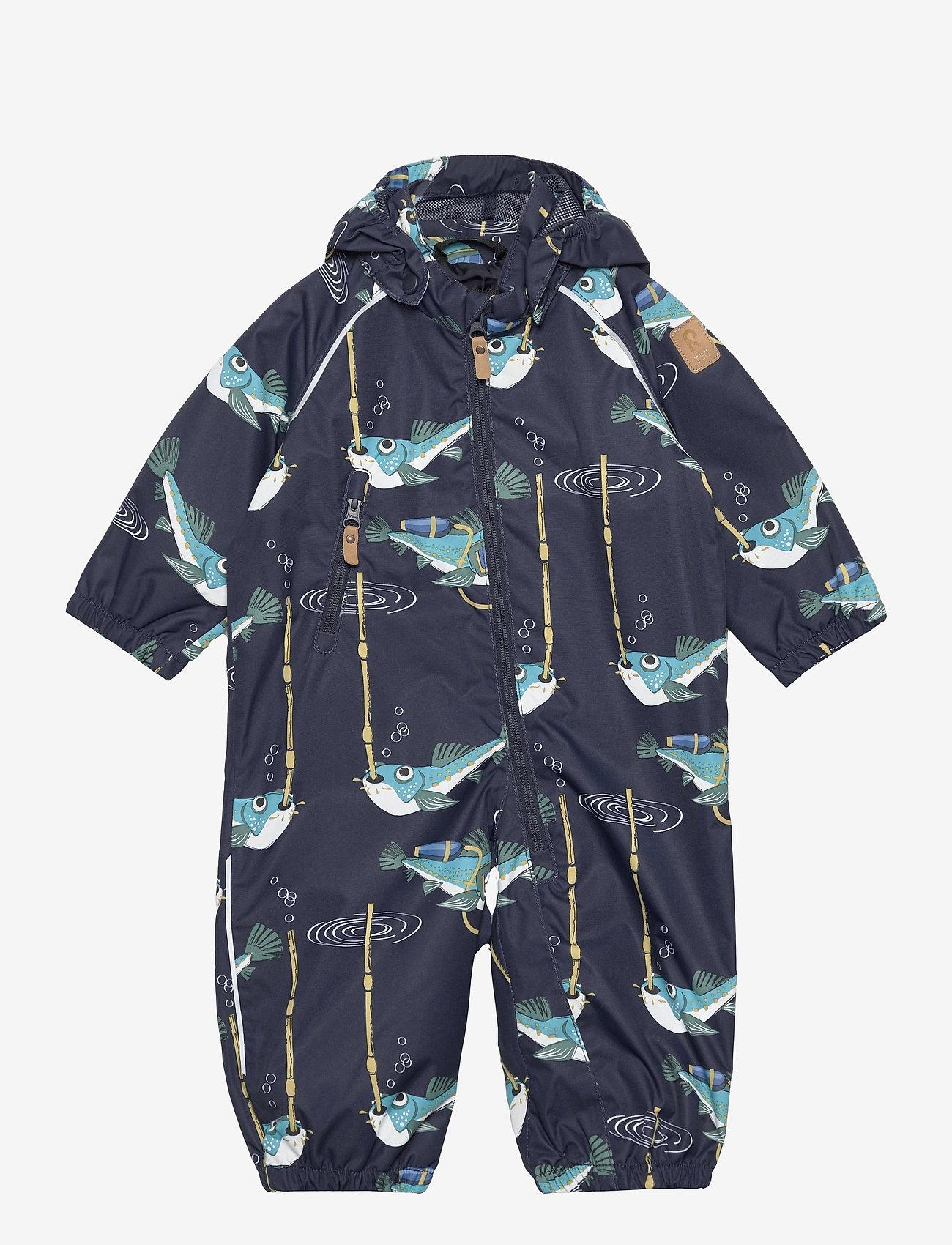 Reima - Drobble - shell clothing - navy - 0