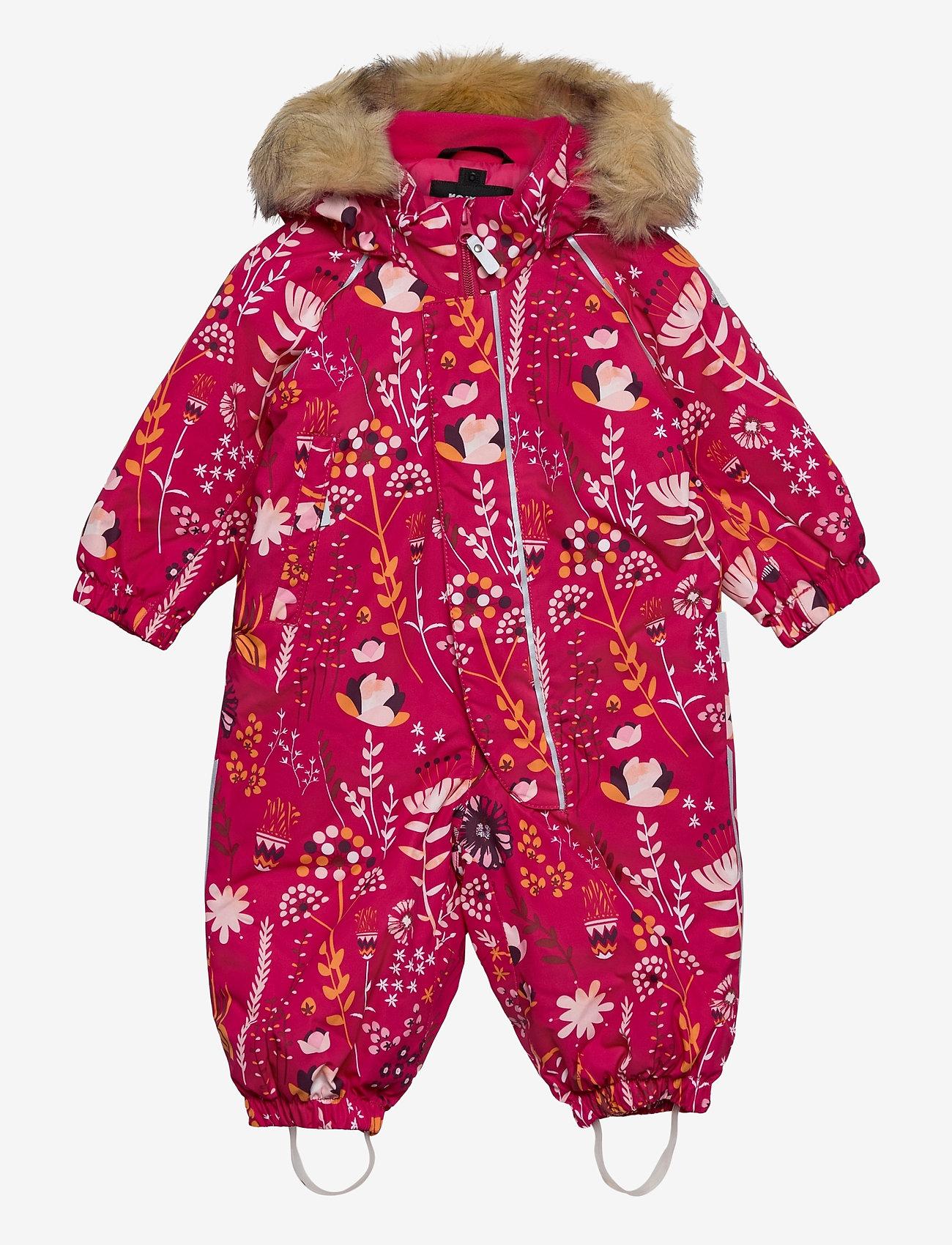 Reima - Lappi - snowsuit - raspberry pink - 0