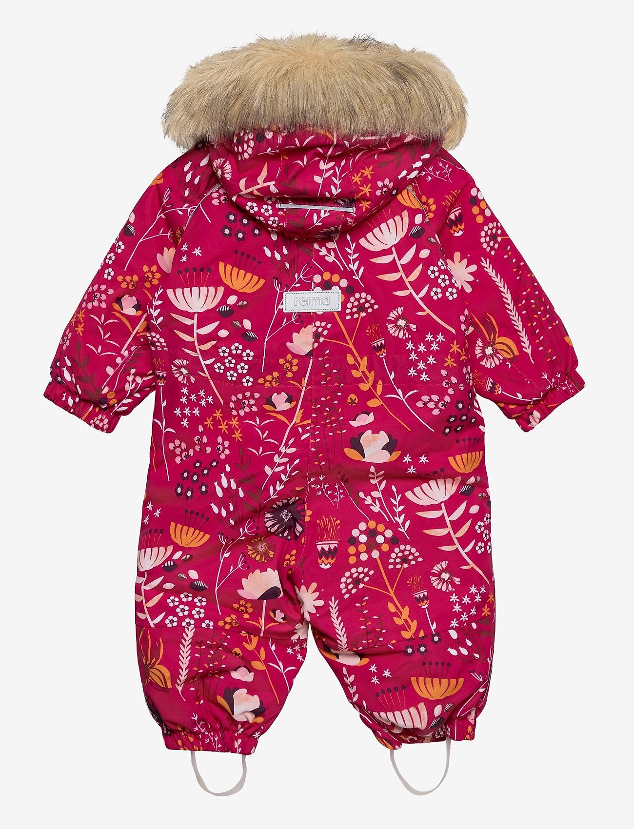 Reima - Lappi - snowsuit - raspberry pink - 1