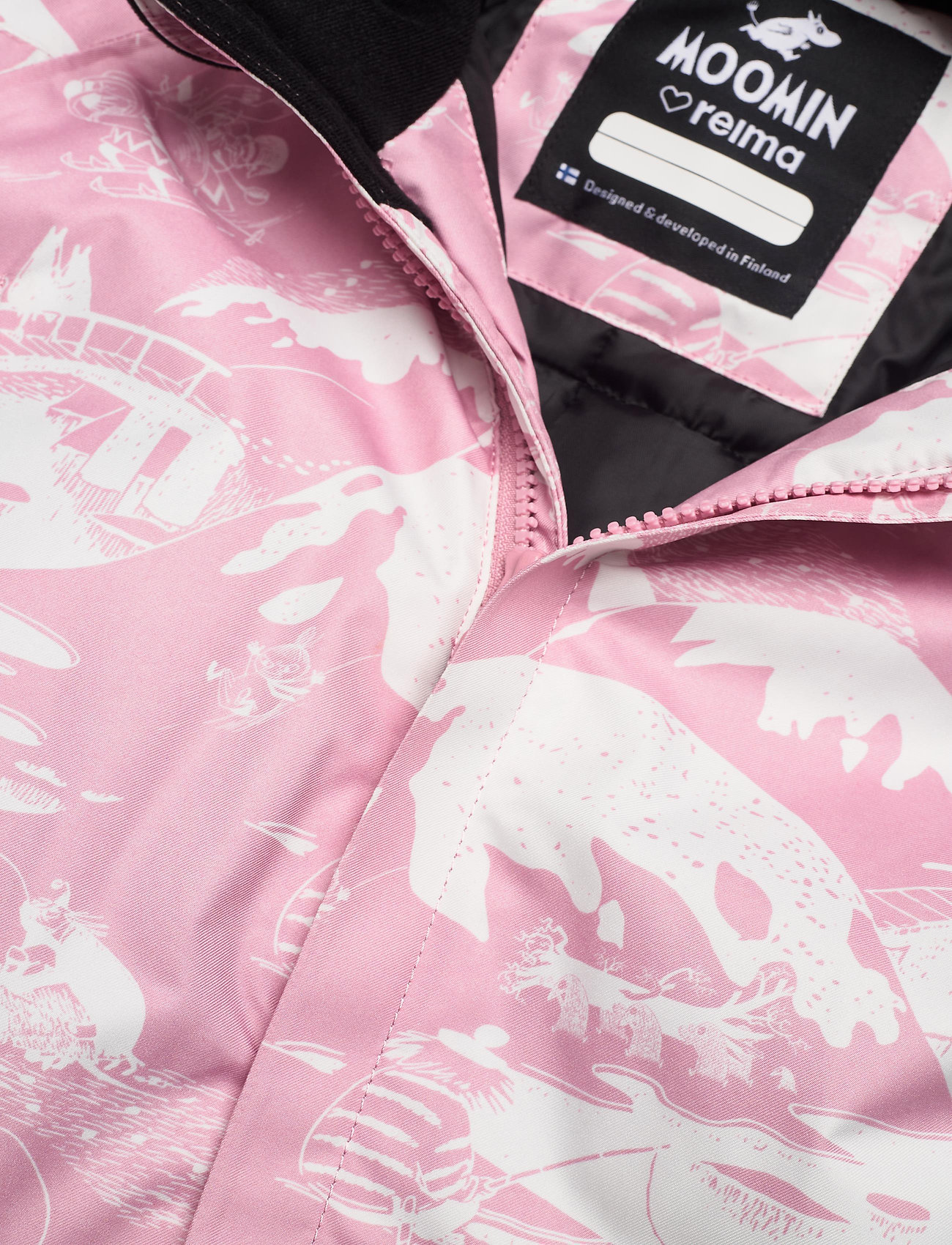 Reima - Moomin Lyster - snowsuit - rosy pink - 0