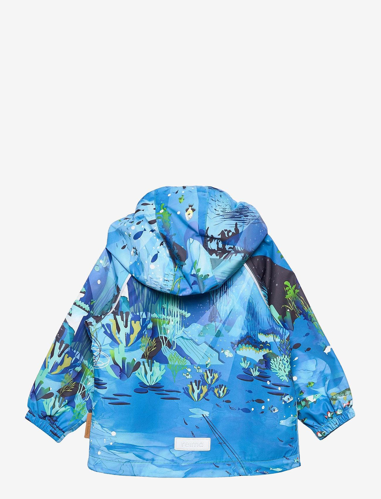 Reima - Hete - softshell jassen - aquatic - 1