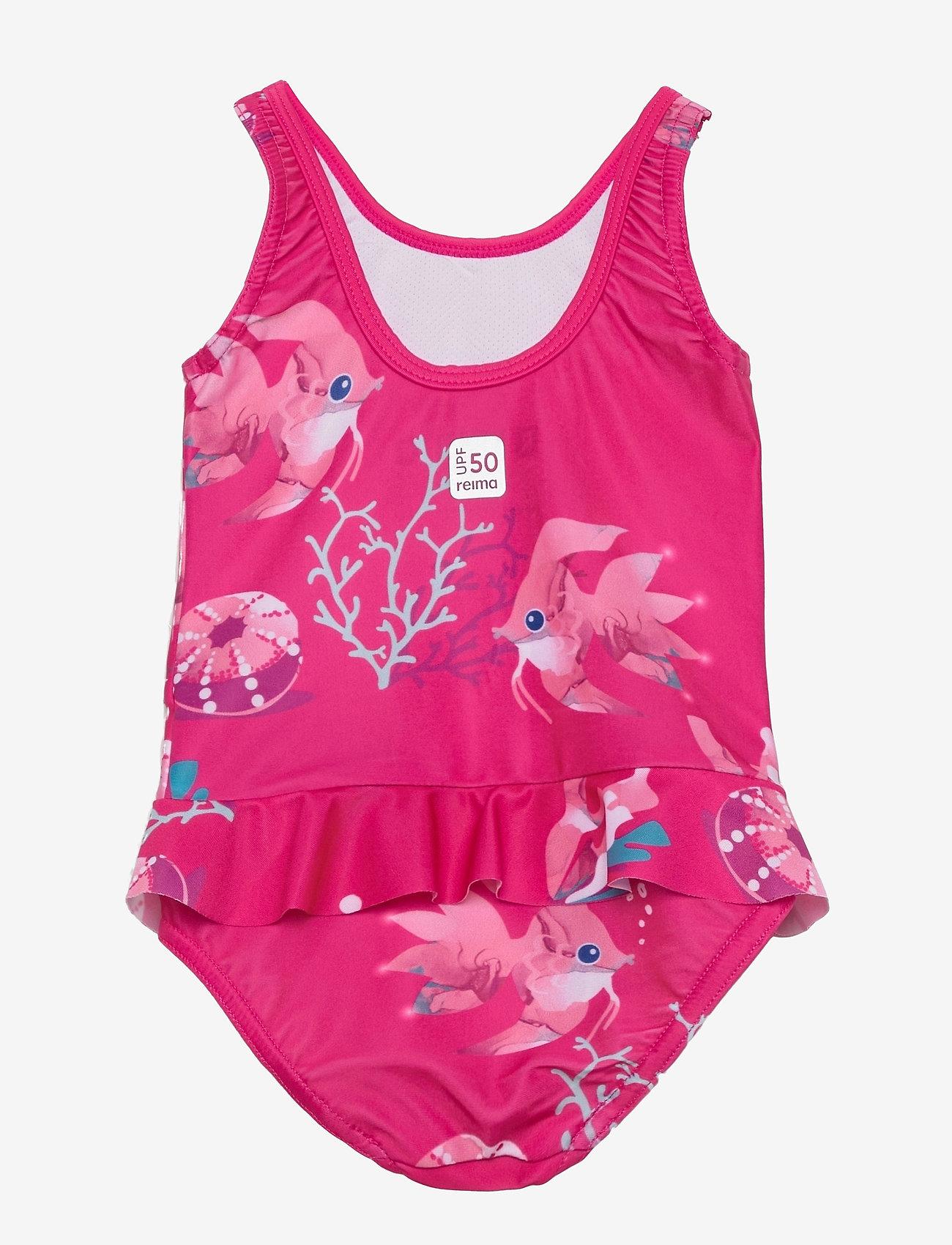 Reima - Korfu - swimsuits - fuchsia pink - 1