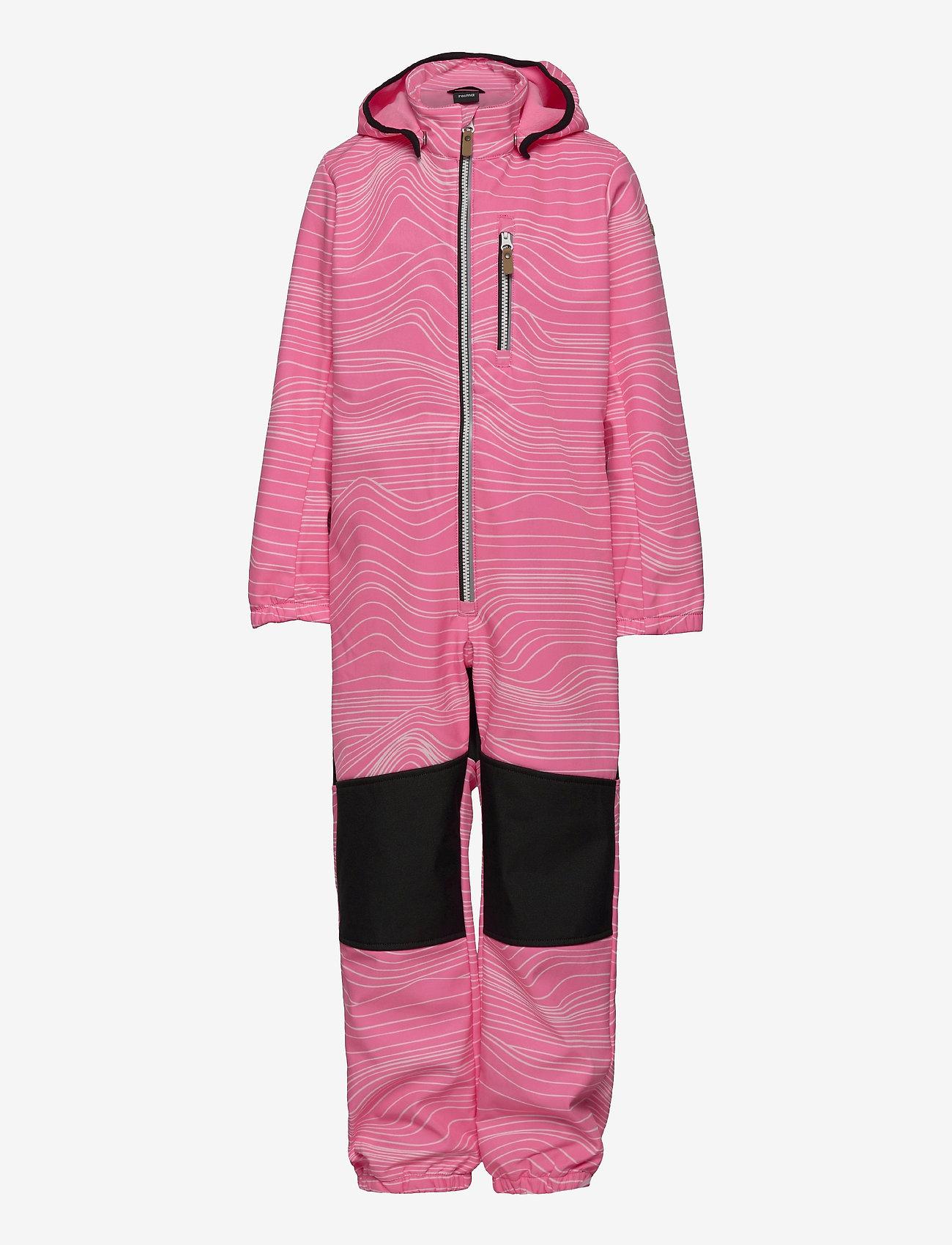 Reima - Nurmes - softshells - neon pink - 0