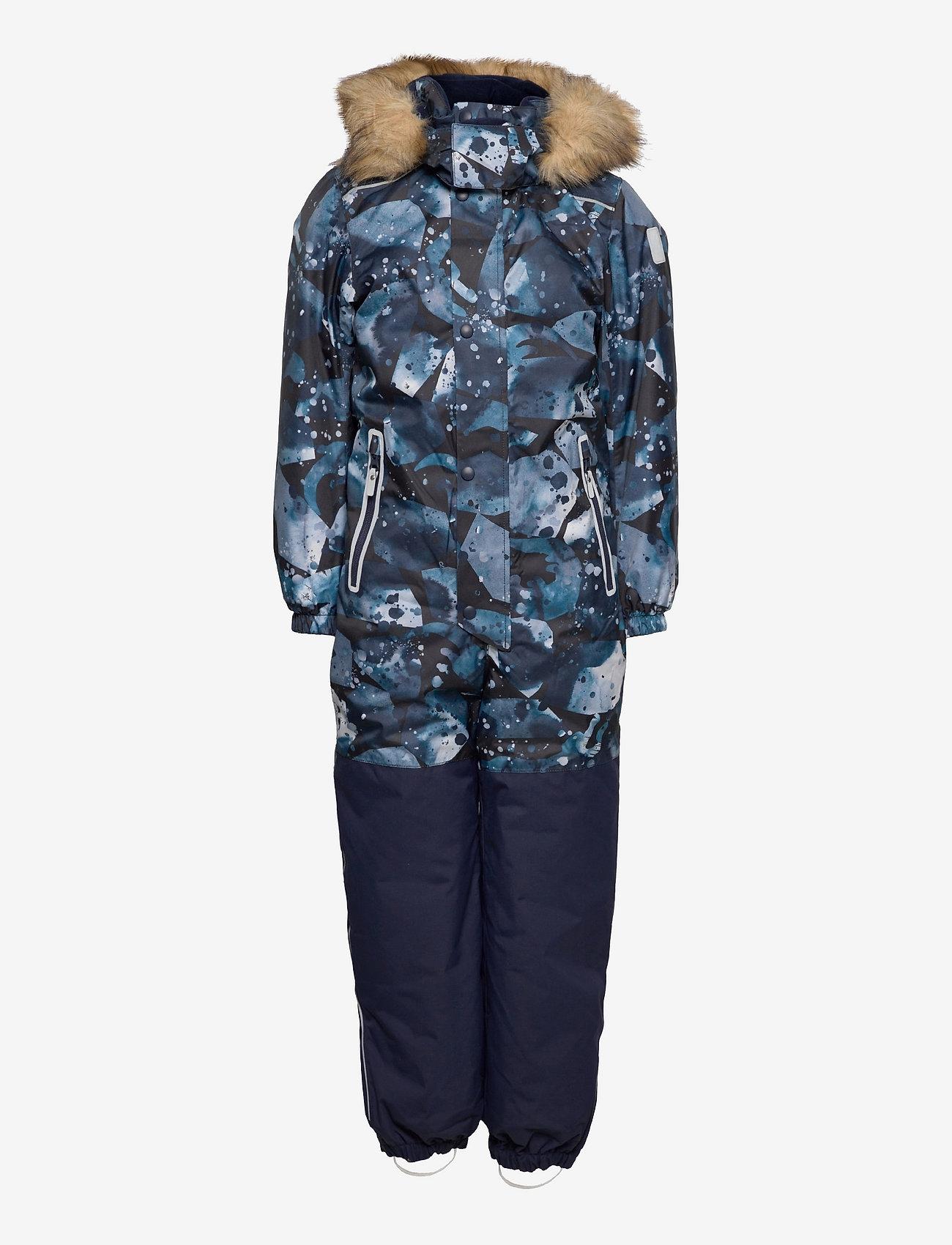Reima - Kipina - snowsuit - navy - 0