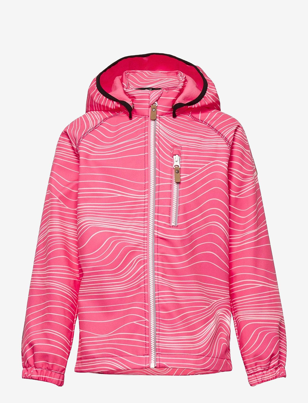 Reima - Vantti - softshell jassen - neon pink - 0