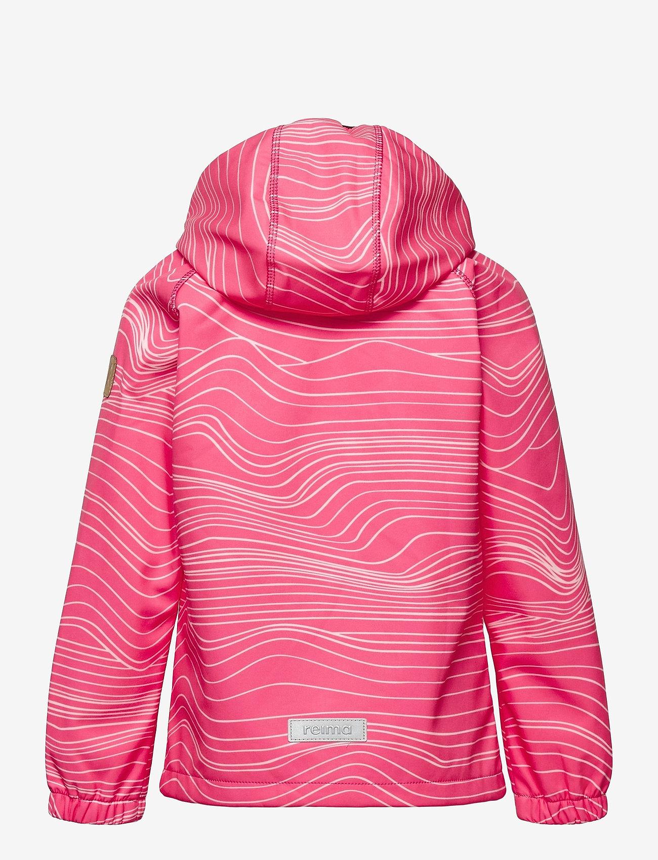 Reima - Vantti - softshell jassen - neon pink - 1